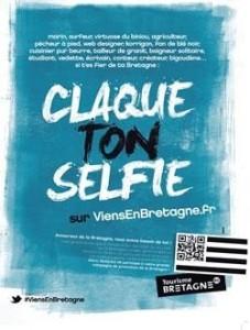« Si t'es fier de ta Bretagne, claque ton selfie » par viensenbretagne.fr