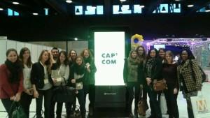 Les étudiants de la LP C&ON à la conférence Cap'Com