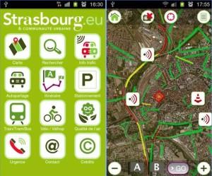 Application Strasbourg