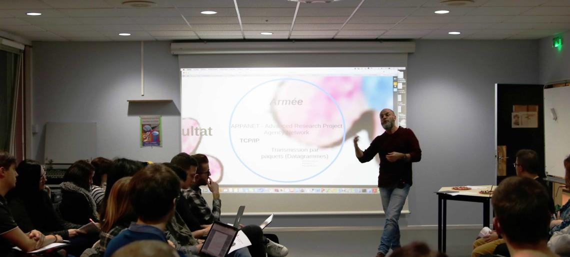 Conférence : « En route pour la dimension numérique »
