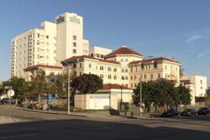 L'hôpital à Los Angeles