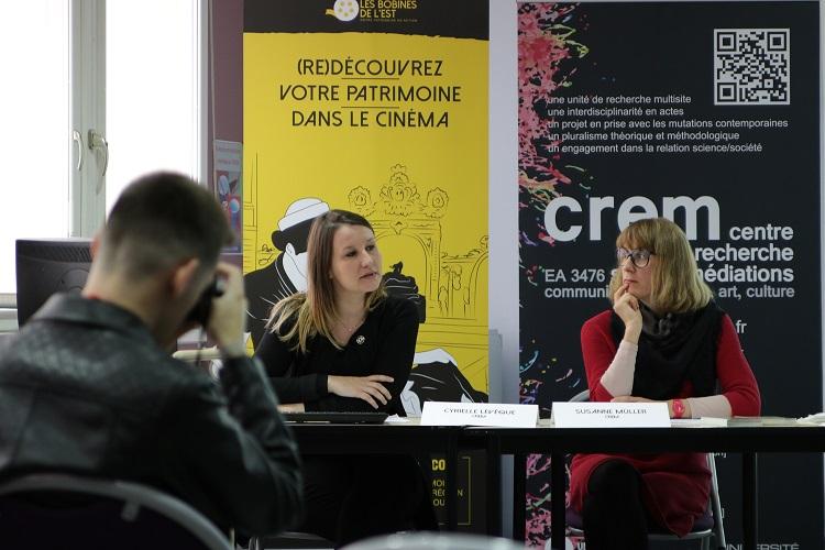 Présentation de Cyrielle Lévêque et Susanne Müller