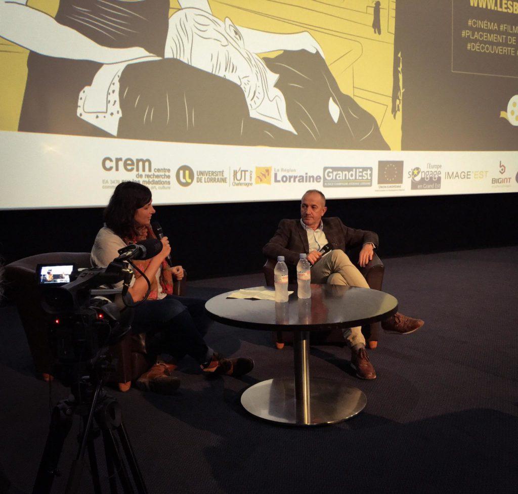 Interview de Philippe Claudel à l'UGC Ludres