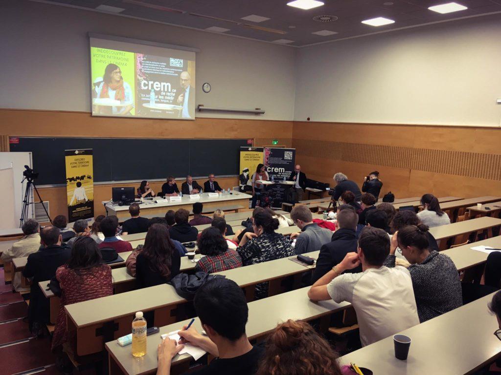 Débats, l'après-midi, organisés par les «Bobines de l'Est» à l'IUT Nancy Charlemagne