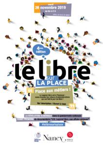 Affiche de la 4e édition du Libre sur la place