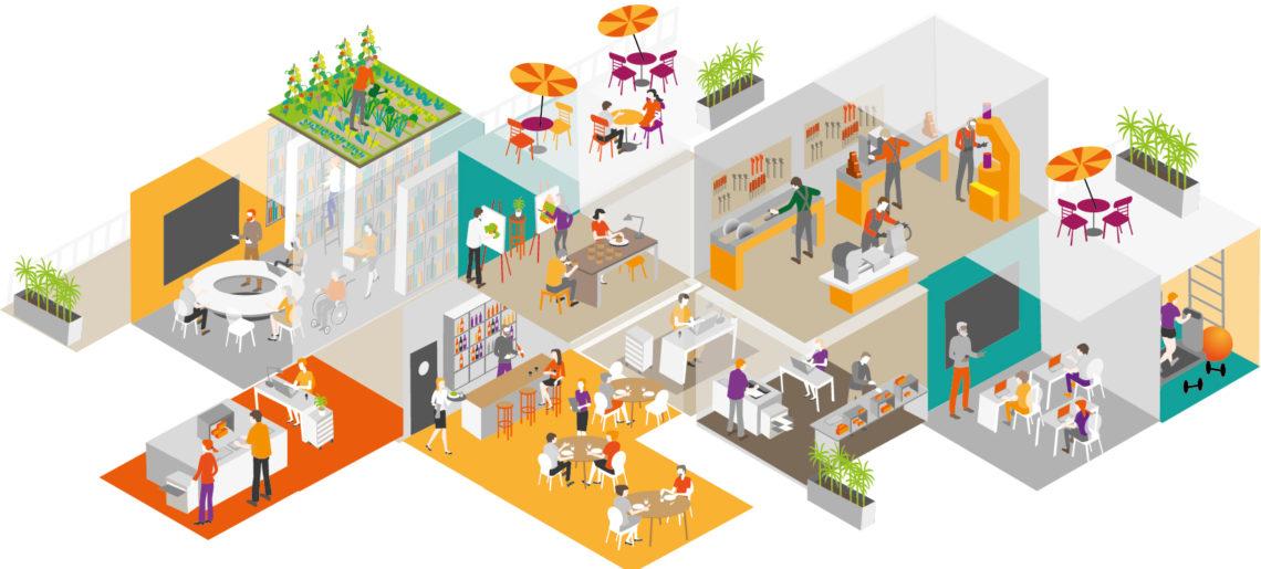 Les espaces de coworking, nouveaux porteurs d'activités dans les territoires